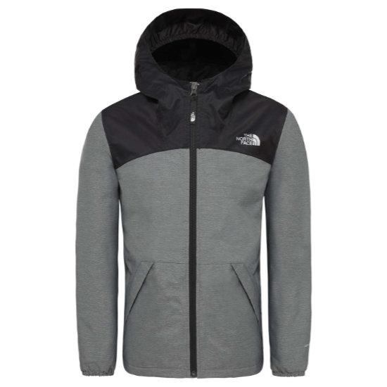 The North Face Warm Storm Jacket Girl - Medium Grey Heather