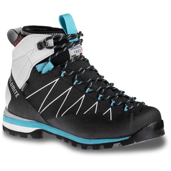 Dolomite Crodarossa Pro Gtx W - Black/Capri Blue