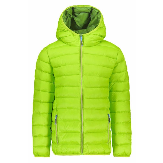 Campagnolo Fix Hood Jacket Boy - Limegreen