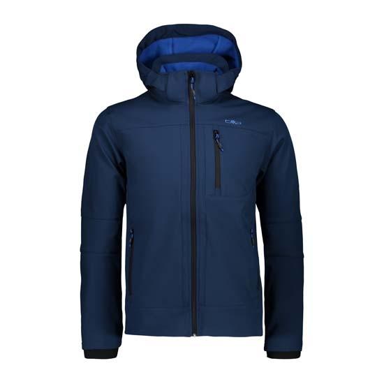 Campagnolo Softshell Zip Hood Jacket - Inchiostro