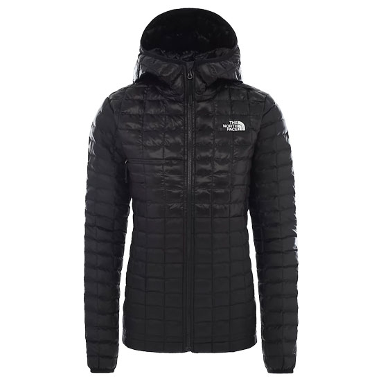 The North Face ThermoBall Eco Active Hoodie W - Tnf Black/Tnf Black