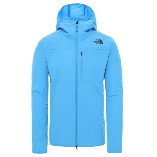 The North Face North Dome 2 Stretch Wind Jacket -  Clear Lake Blue