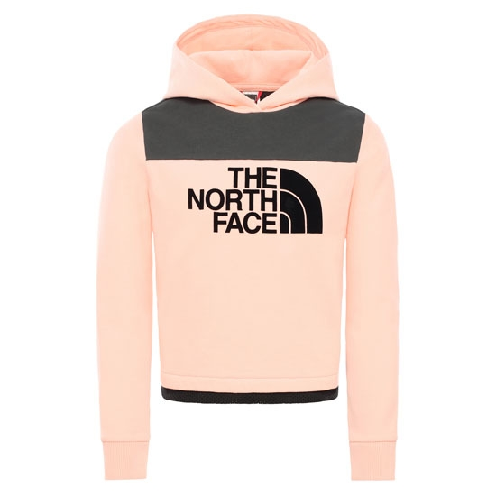 The North Face Cropped Hoodie Girl - Impatiens Pink