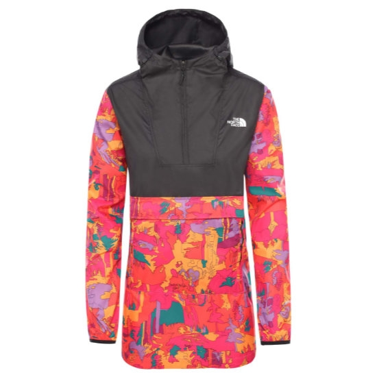 The North Face Printed Fanorak W - Pnknwdimnsnsprt