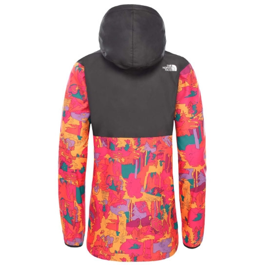 The North Face Printed Fanorak W - Photo of detail