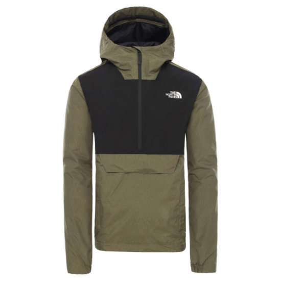The North Face Waterproof Fanorak - Burnt Olive Green Rain Camo Print