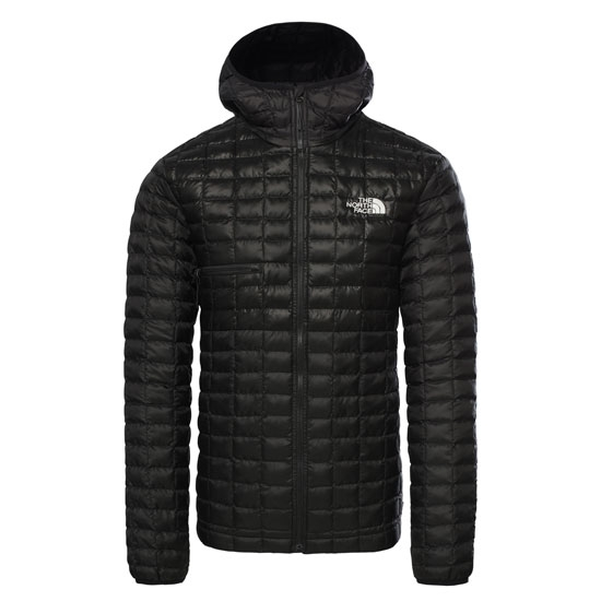 The North Face ThermoBall Eco Light Hoodie -  TNF Black/TNF Black Shine
