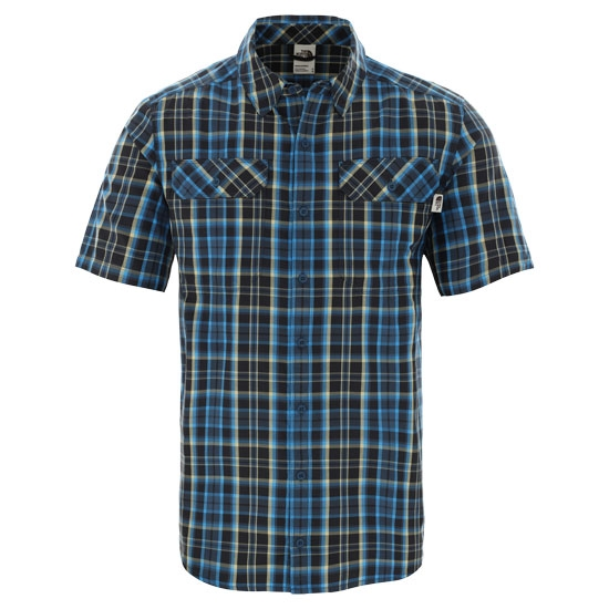 The North Face Pine Knot Shirt - Blue Wing Teal Plaid