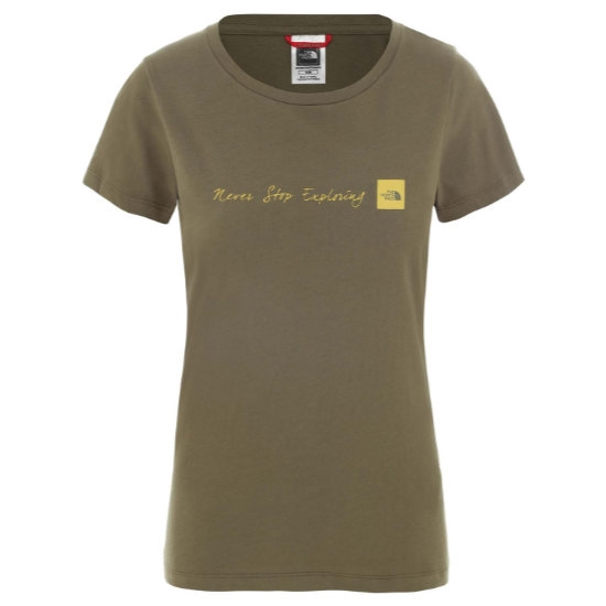 The North Face Neverstopexploring Tee W - Burnt Olive Green