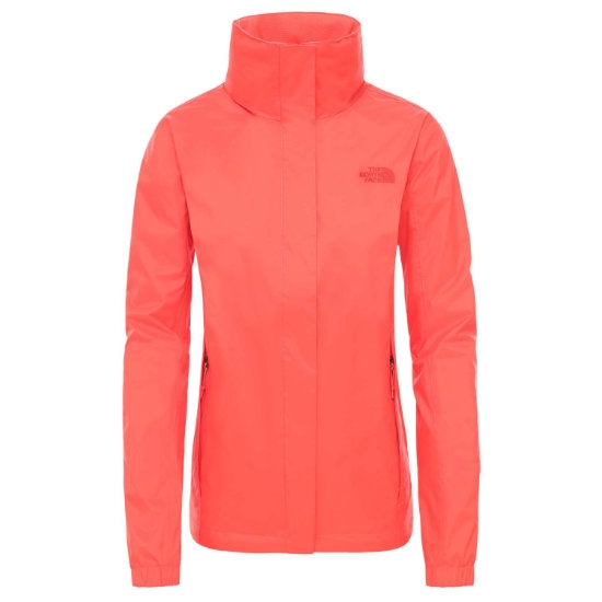 The North Face Resolve 2 Jacket W - Cayenne Red/Cayenne Red