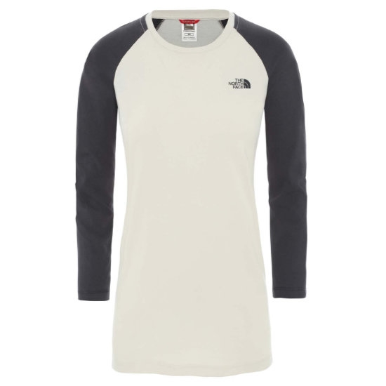 The North Face Correia L/S Tee W -  Vintage White