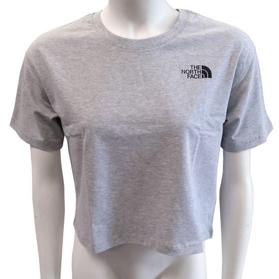 The North Face Cropped SD Tee W - Tnf Light Grey Heather