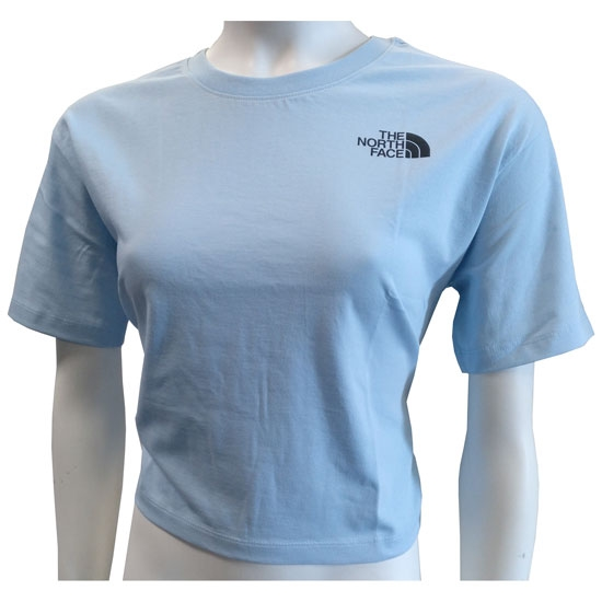The North Face Cropped SD Tee W - Angel Falls Blue