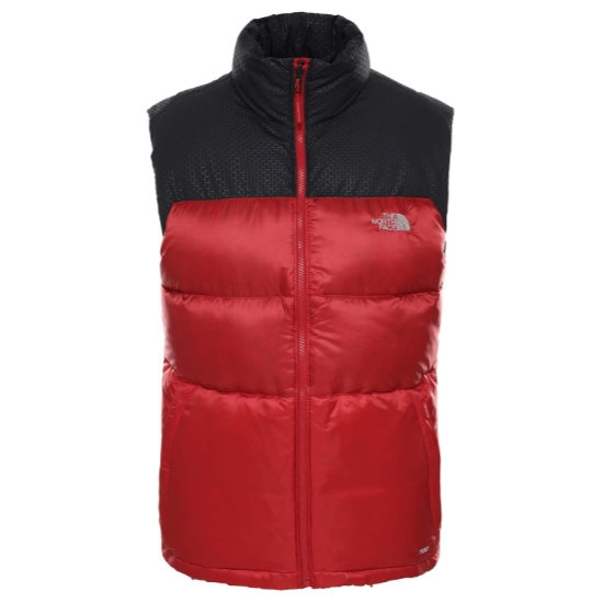 The North Face Nevero Down Vest - Cardinal Red/Black
