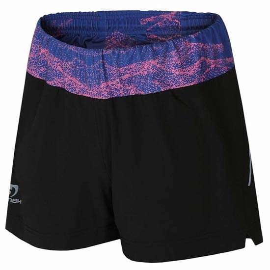 Hannah Passana Short W - Anthracite/Blue