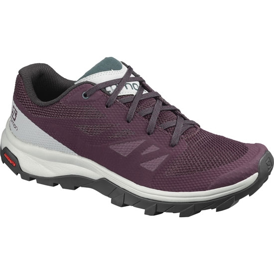 Salomon Outline W - Winetastin/Quarry/Green
