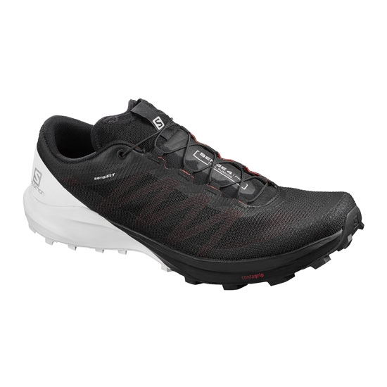 Salomon Sense 4 Pro - Black/White/Cherry