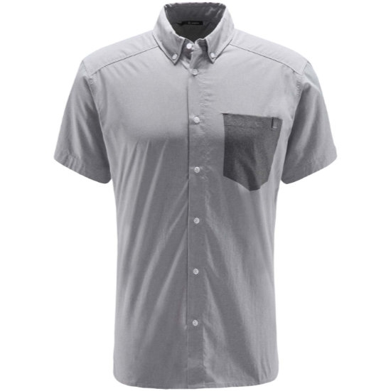 Haglöfs Vejan Ss Shirt - Concrete