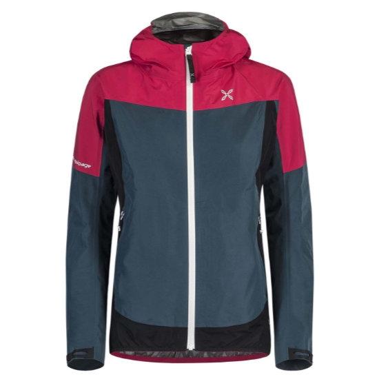 Montura Pac Mind Jacket W - Blu Cenere/Rosa Sugar