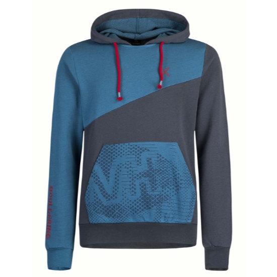 Montura M+ Block Sweater - Blu Ottanio/Piombo