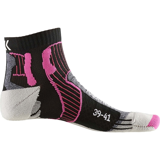 Xsocks Run Marathon Energy W - Black/ Anthracite
