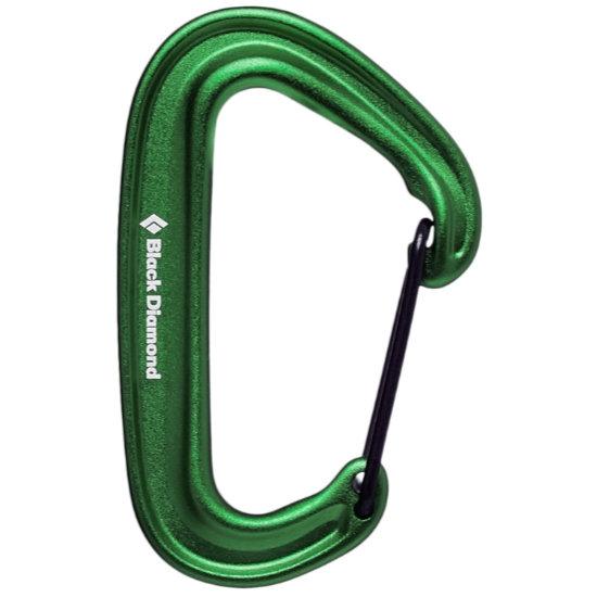 Black Diamond Miniwire Carabiner - Green