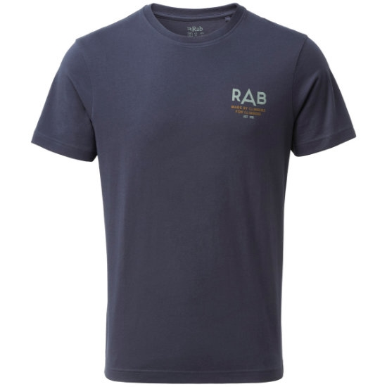 Rab Stance Sunrise Ss Tee - Deep ink