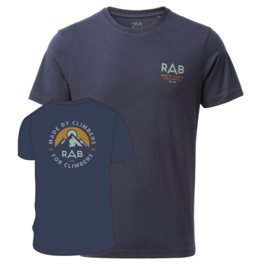 Rab Stance Sunrise Ss Tee - Photo of detail