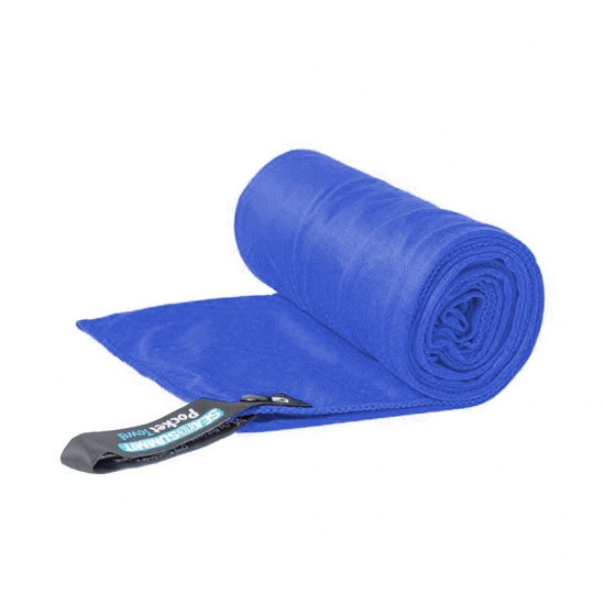 Sea To Summit Pocket Towel L - Azul Cobalto