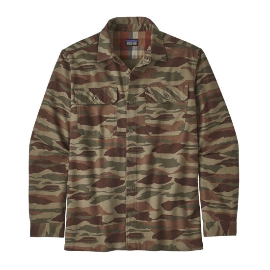 Patagonia L/S Fjord Flannel Shirt - Bear Witness