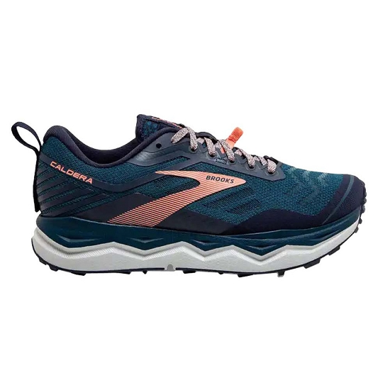 Brooks Caldera 4 W - Blue/Peacoat/Desert Flower