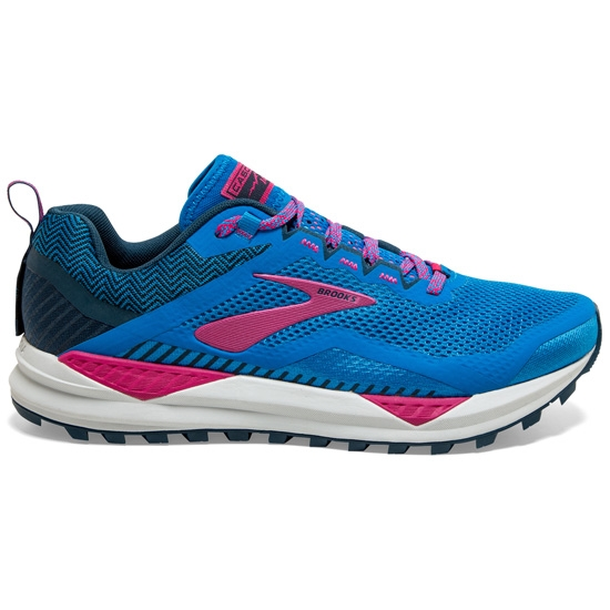 Brooks Cascadia 14 W - Blue Aster/Beetroot/Grey