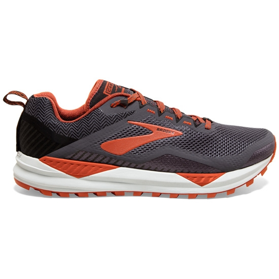 Brooks Cascadia 14 - Black/Grey/Burnt Ochre
