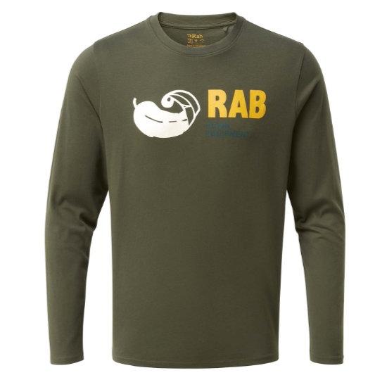 Rab Stance Vintage LS Tee - Army