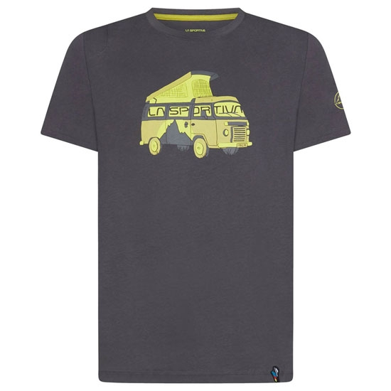 La Sportiva Van 2.0 T-Shirt - Carbon/Kiwi