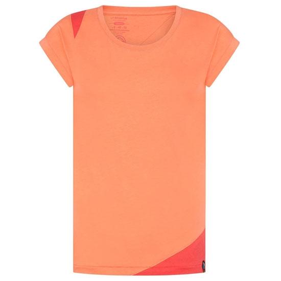 La Sportiva Chimeny T-Shirt W - Flamingo/Hibiscus
