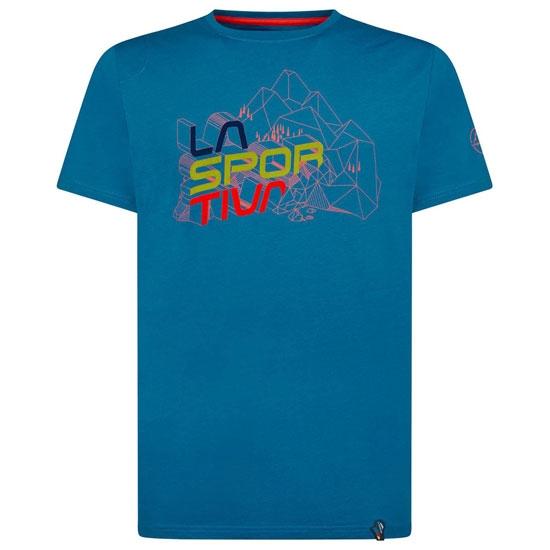 La Sportiva Cubic T-Shirt - Neptune
