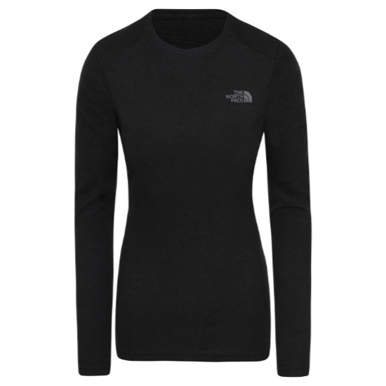 The North Face Easy L/S Crew Neck W - Black