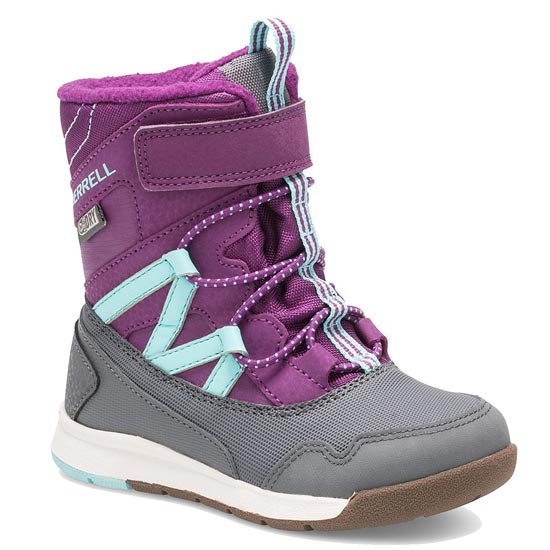Merrell Snow Crush Waterproof Jr - PurpleUR/Turq