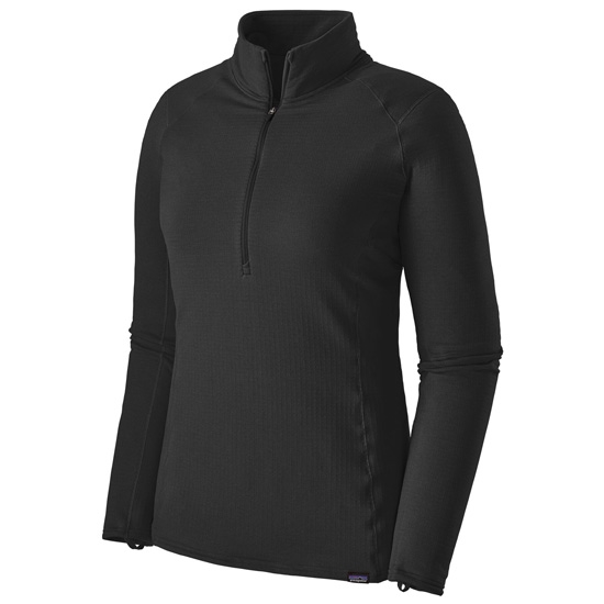 Patagonia Capilene Thermal Weight Zip neck W - Black