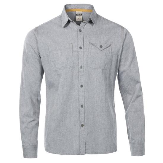 Rab Maker Ls Shirt - Grey Chambray