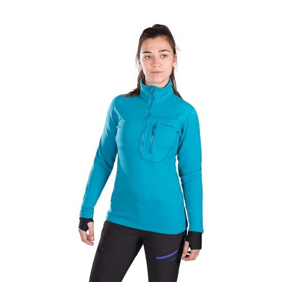Trangoworld TRX2 Stretch Pro Pullover W - Blue Sea