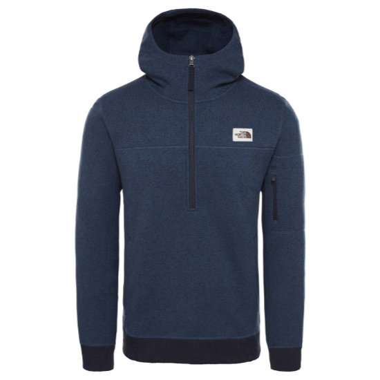 The North Face Gordon Lyons Pullover Hoodie - Shady Blue Heather/Urban Navy Heather
