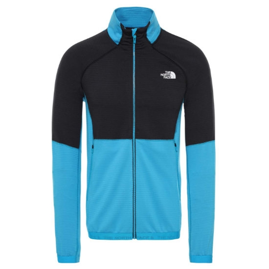 The North Face Impendor Midlayer - Acoustic Blue/Black
