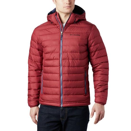Columbia Powder Lite Hooded - Red Jasper