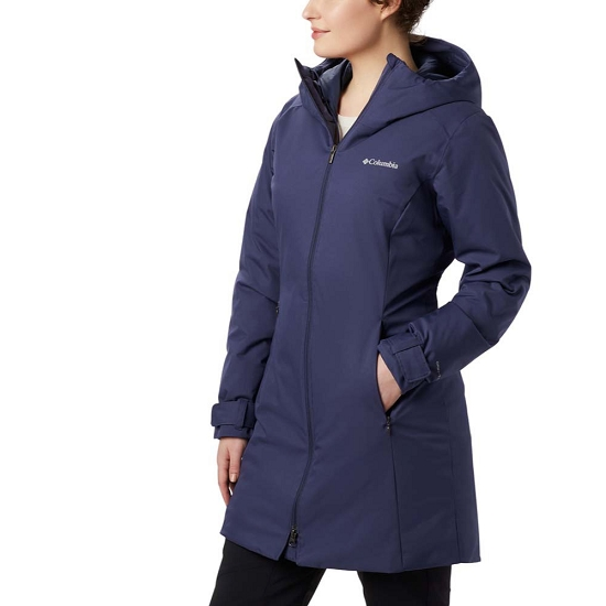 Columbia Autumn Rise Mid Jacket W - Nocturnal