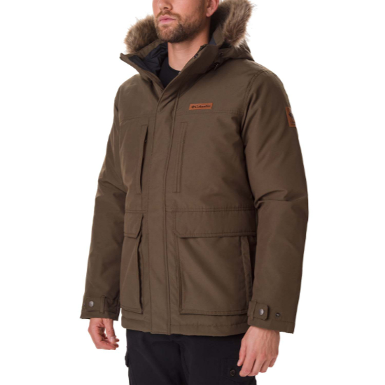 Columbia Marquam Peak Jacket - Olive Green