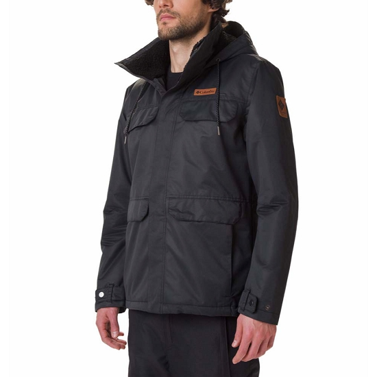 Columbia South Canyon Lined Jacket - Black