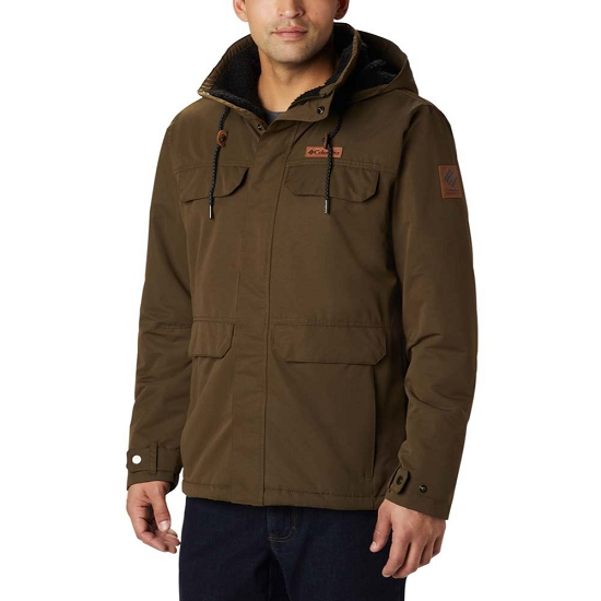 Columbia South Canyon Lined Jacket - Olive Green