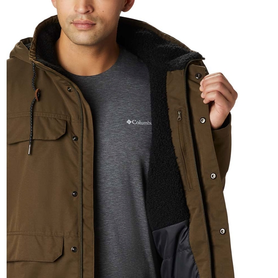 Columbia South Canyon Lined Jacket - Photo of detail